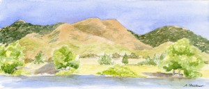 """Boulder Foothills"" By April Christenson"